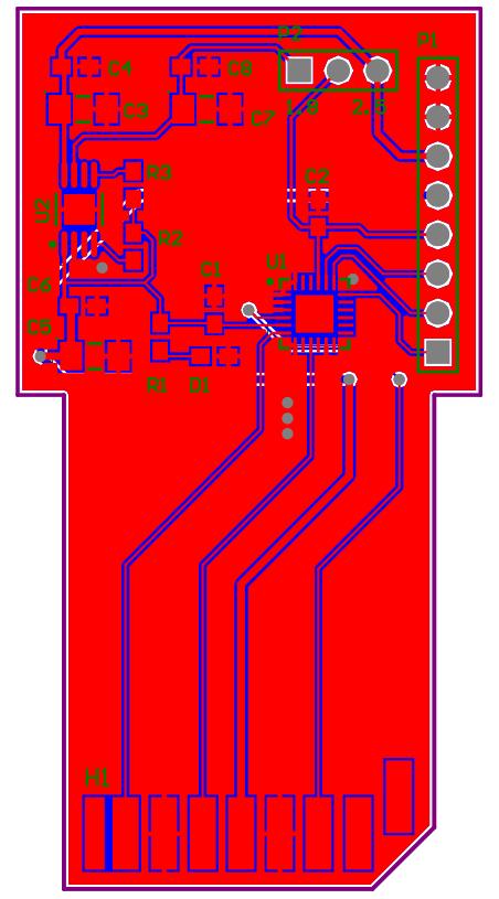 Exploitee rs Low Voltage e-MMC Adapter (Alpha Version